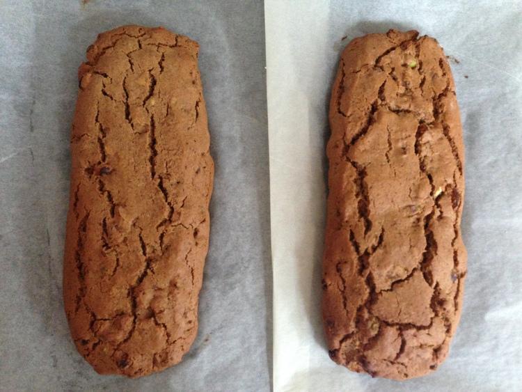 Vegan Pistachio & Apricot Biscotti by The Mindful Vegan Kitchen #veganbakeoffchallenge