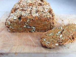Carrot rye bread 2
